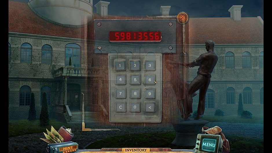 Parallels Cross Mansion Entrance Keypad Code
