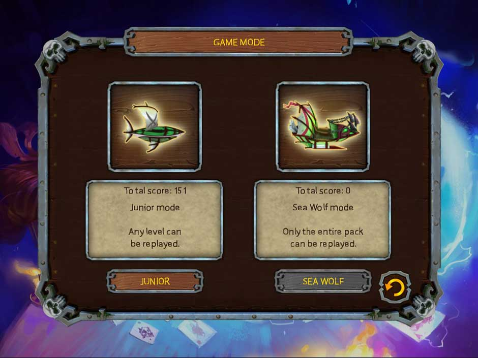 Pirate's Solitaire 3 - Game Mode