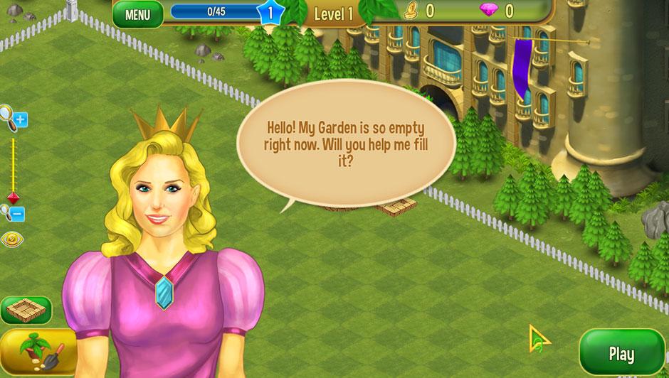 Queen's Garden 2 - 1