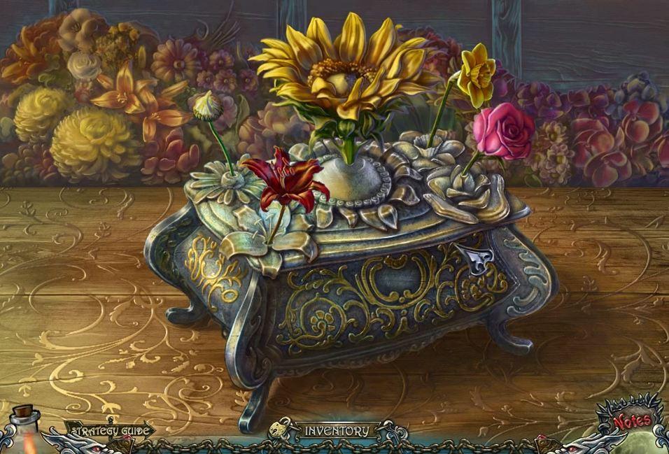 Shadow Wolf Mysteries - Cursed Wedding - Flowers