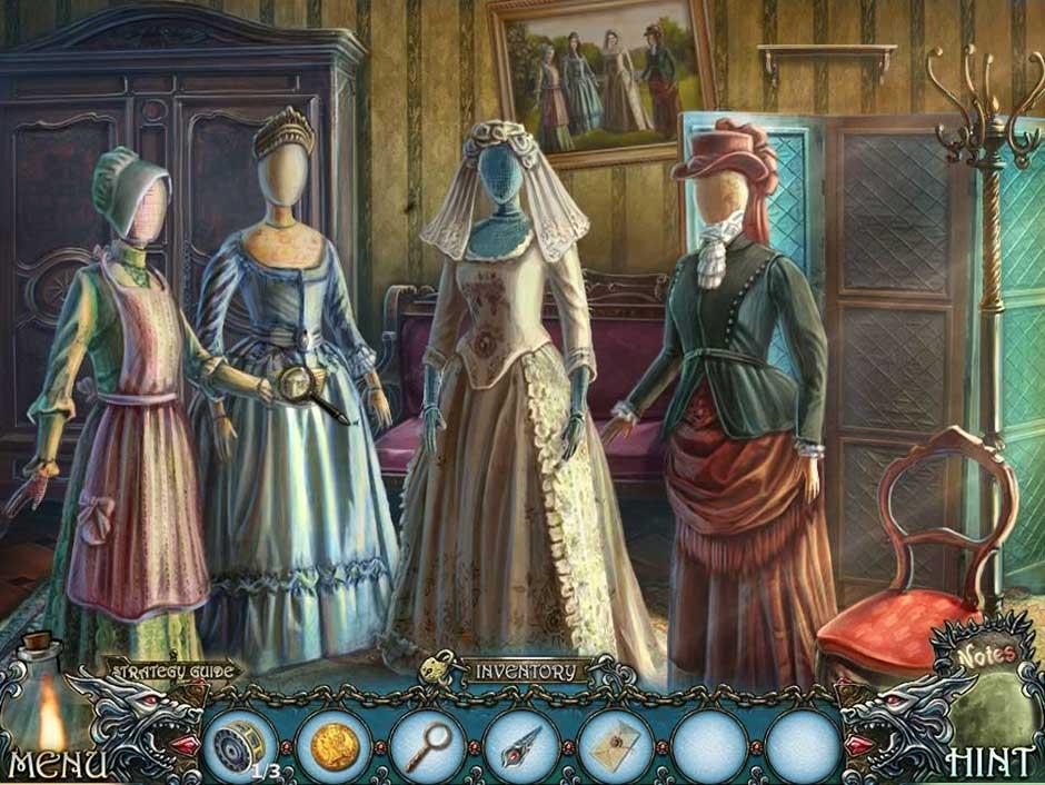 Shadow Wolf Mysteries - Cursed Wedding - Mannequins