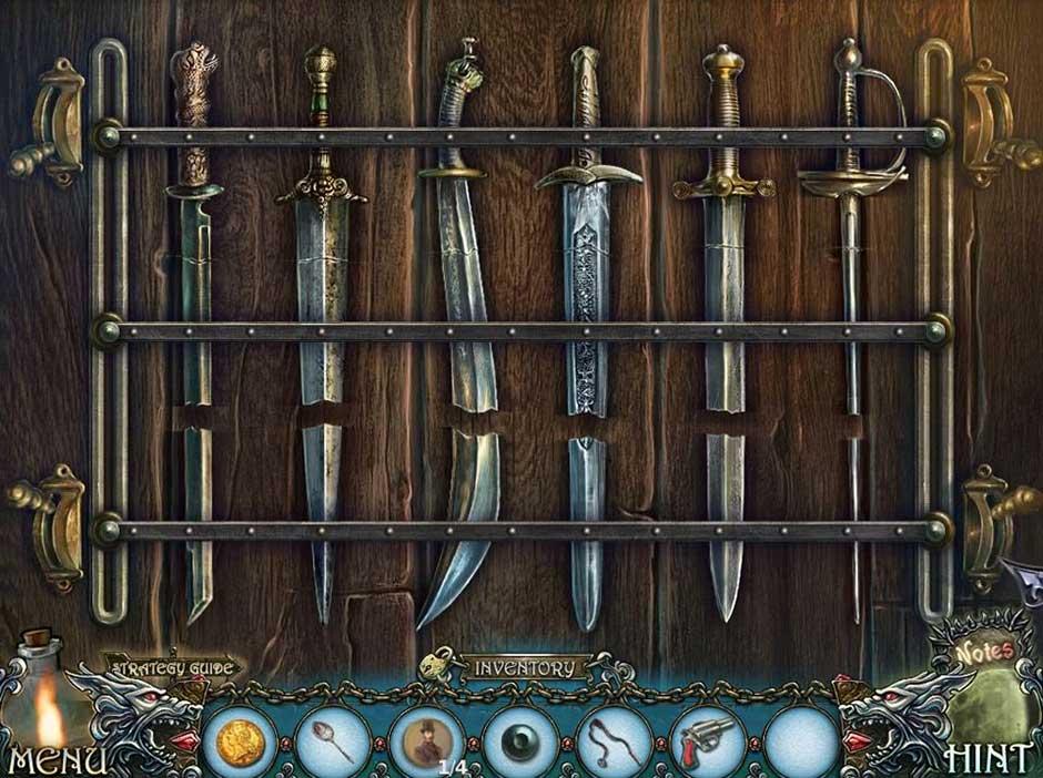 Shadow Wolf Mysteries - Cursed Wedding - Swords