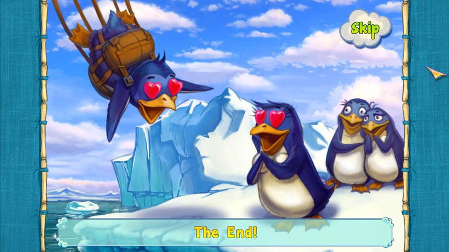1 Penguin 100 Cases Ending