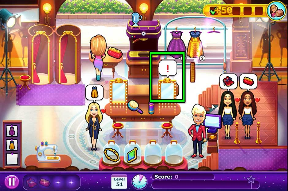 Fabulous - Angela's Fashion Fever - Level 51