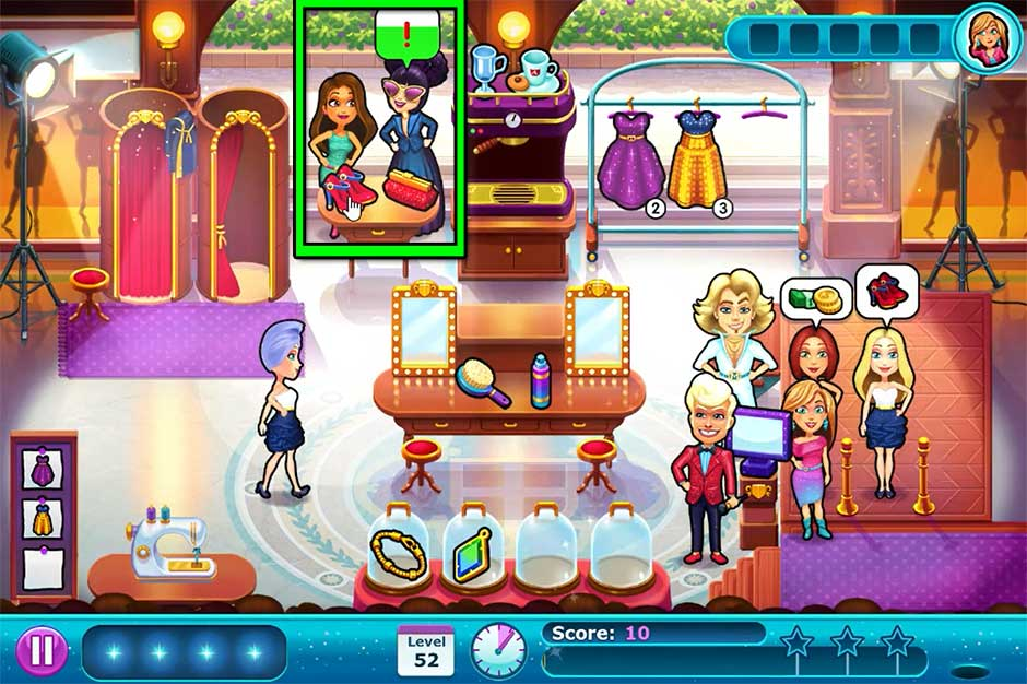 Fabulous - Angela's Fashion Fever - Level 52