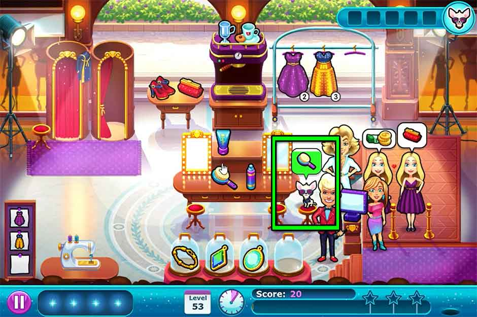 Fabulous - Angela's Fashion Fever - Level 53