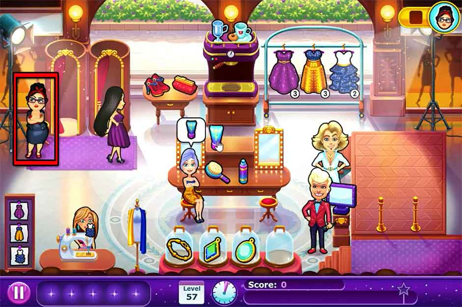 Fabulous - Angela's Fashion Fever - Level 57