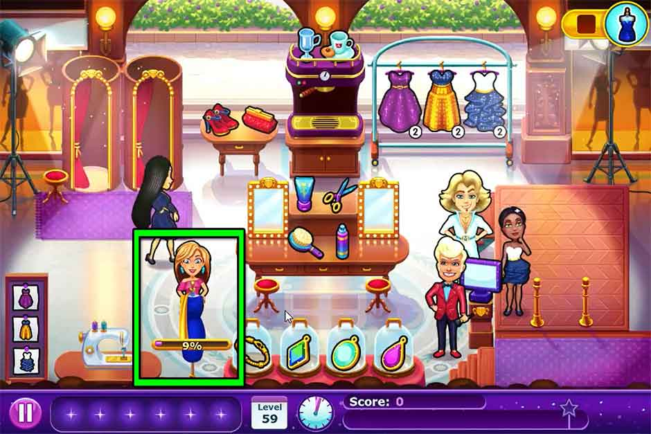 Fabulous - Angela's Fashion Fever - Level 59