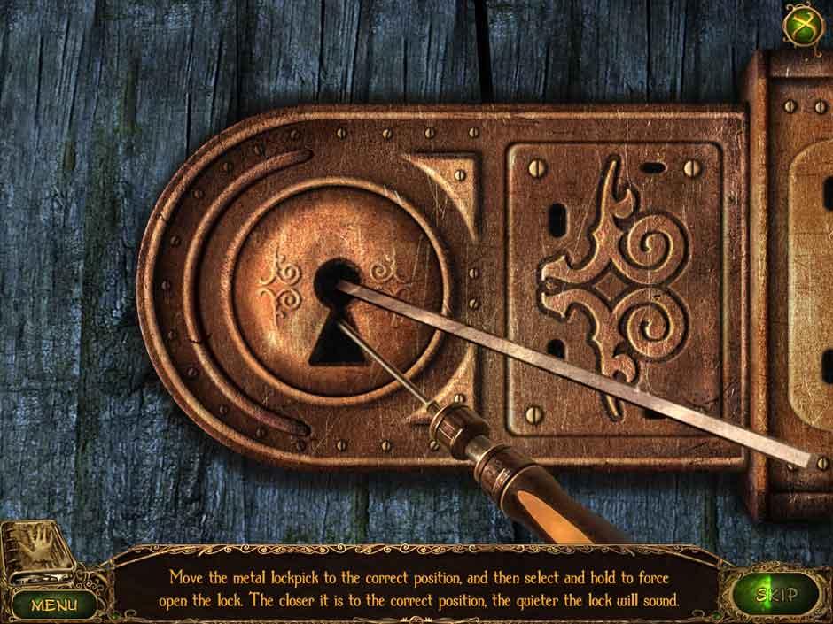 Lost Tales Forgotten Souls 009 Lock Puzzle
