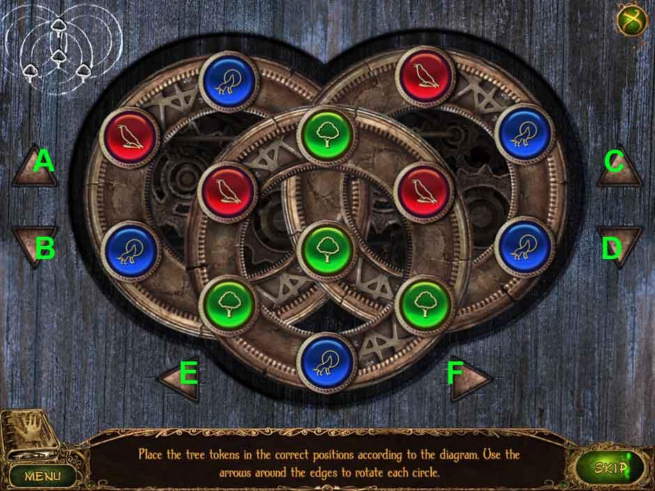 Lost Tales Forgotten Souls 011 Button Puzzle