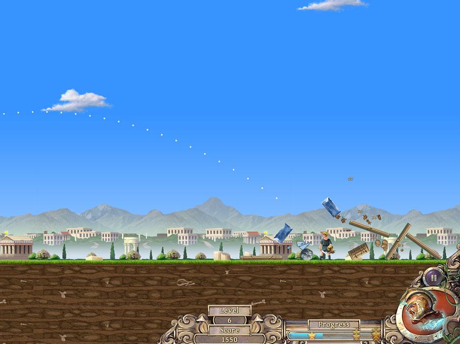 Secrets of Olympus 2 - Mini Game