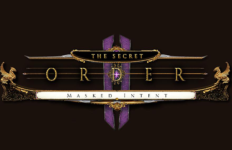The Secret Order – Masked Intent QuickStart Guide