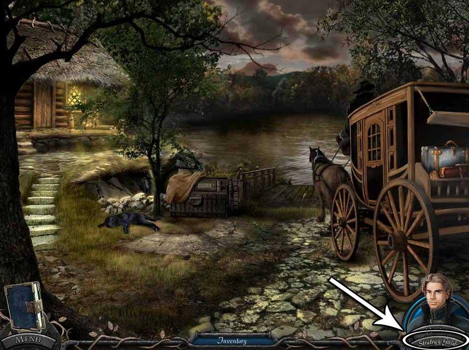 Vampire Legends - The True Story of Kisilova Walkthrough Location