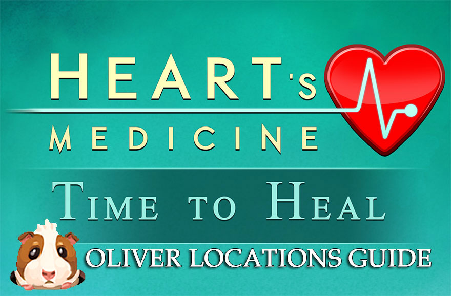 Heart's Medicine – Time to Heal: Oliver the Guinea Pig Locations Guide