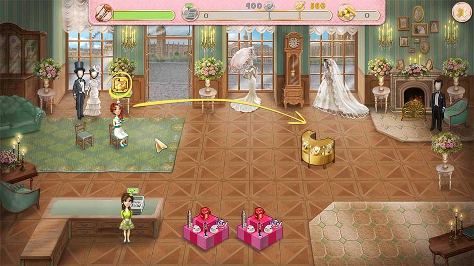 Wedding Salon 2 - Click and Drag a Customer