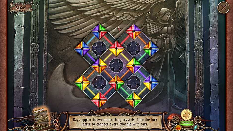 World Keepers - Last Resort Cathedral Coffin Crystal Ray Puzzle