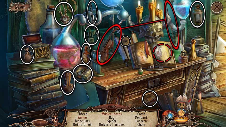 World Keepers - Last Resort Strange Room Hidden Object Scene 2