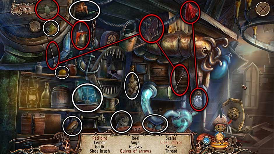 World Keepers - Last Resort Tavern Hidden Object Scene 2