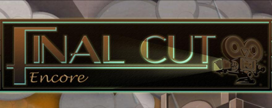 Final Cut – Encore QuickStart Guide