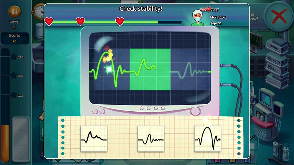 Heart's Medicine - Time to Heal Minigame - Check Stability