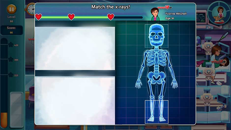 Heart's Medicine - Time to Heal Minigame - Match the X-rays