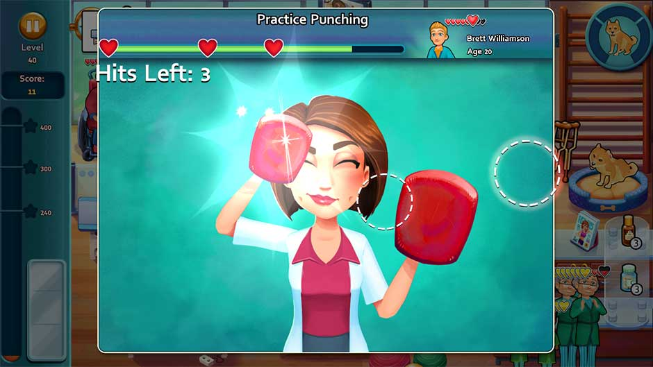 Heart's Medicine - Time to Heal Minigame - Practice Punching