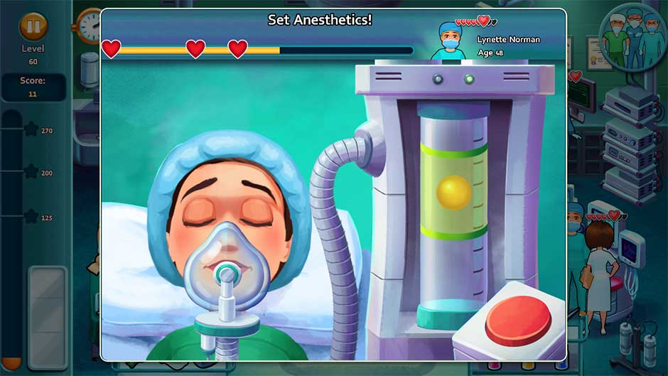 Heart's Medicine - Time to Heal Minigame - Set Anesthetics