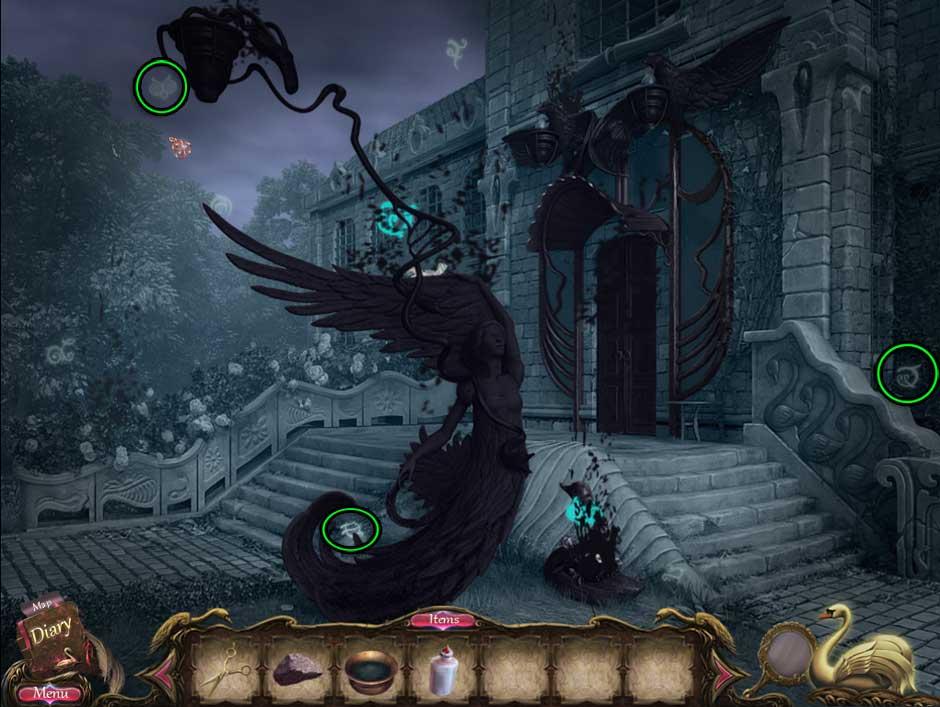 Black Swan Dark World Puzzle 01