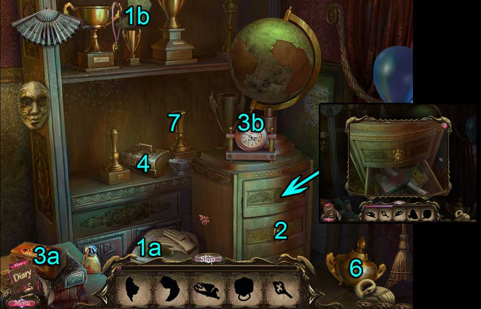 Black Swan Hidden Object Puzzle 02