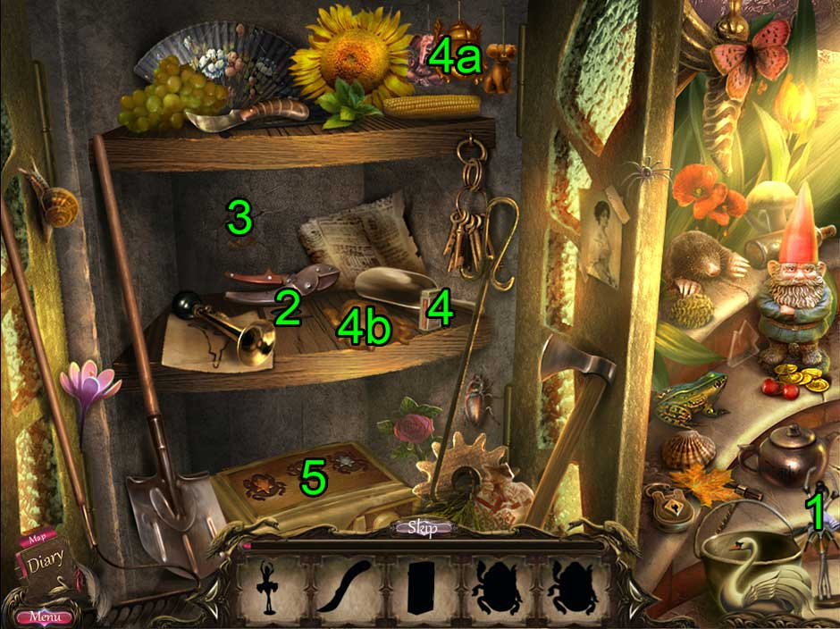 Black Swan Hidden Object Puzzle 05