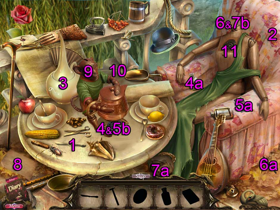 Black Swan Hidden Object Puzzle 06
