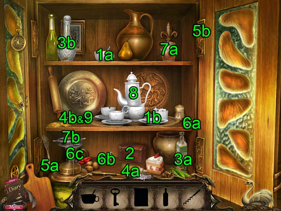 Black Swan Hidden Object Puzzle 08