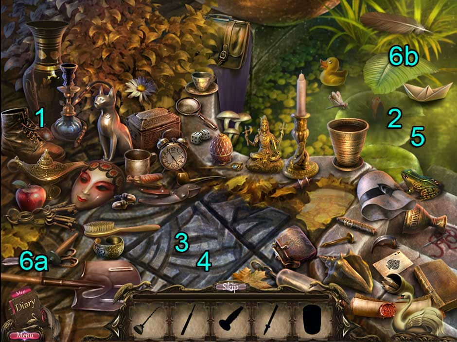 Black Swan Hidden Object Puzzle 09