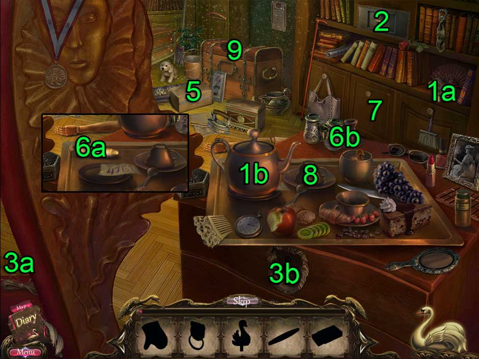 Black Swan Hidden Object Puzzle 10