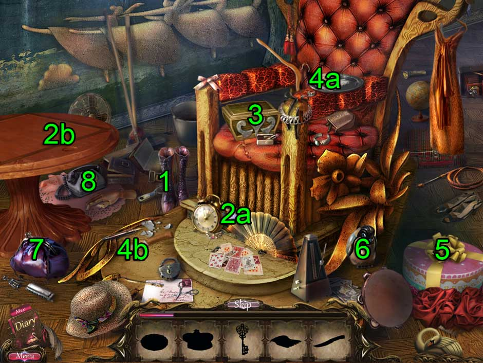 Black Swan Hidden Object Puzzle 14