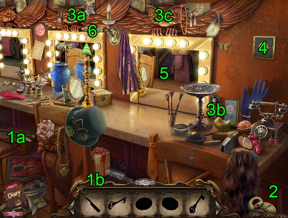 Black Swan Hidden Object Puzzle 15
