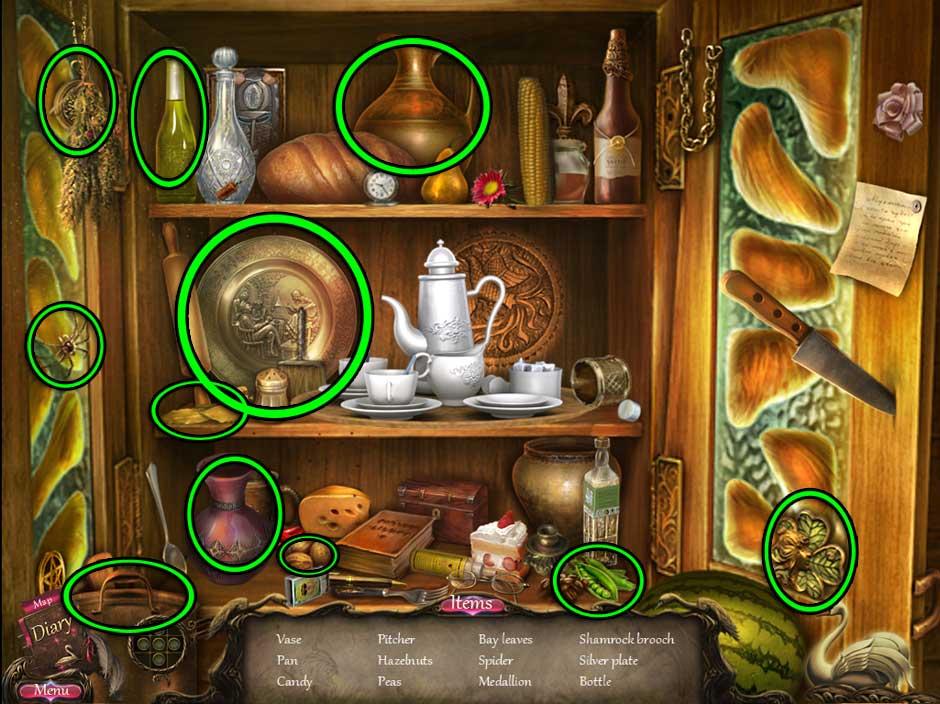 Black Swan Hidden Object Screen 10b