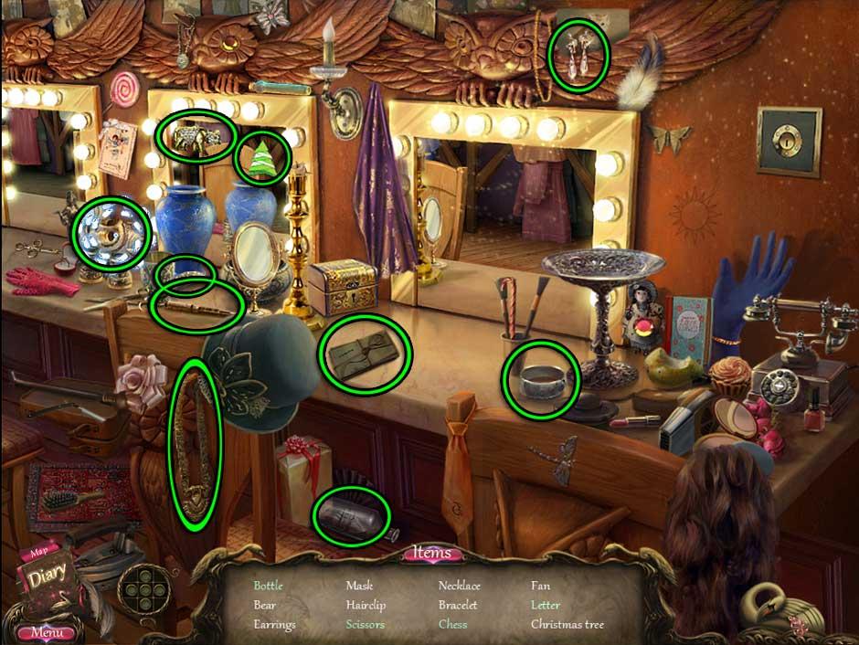 Black Swan Hidden Object Screen 16
