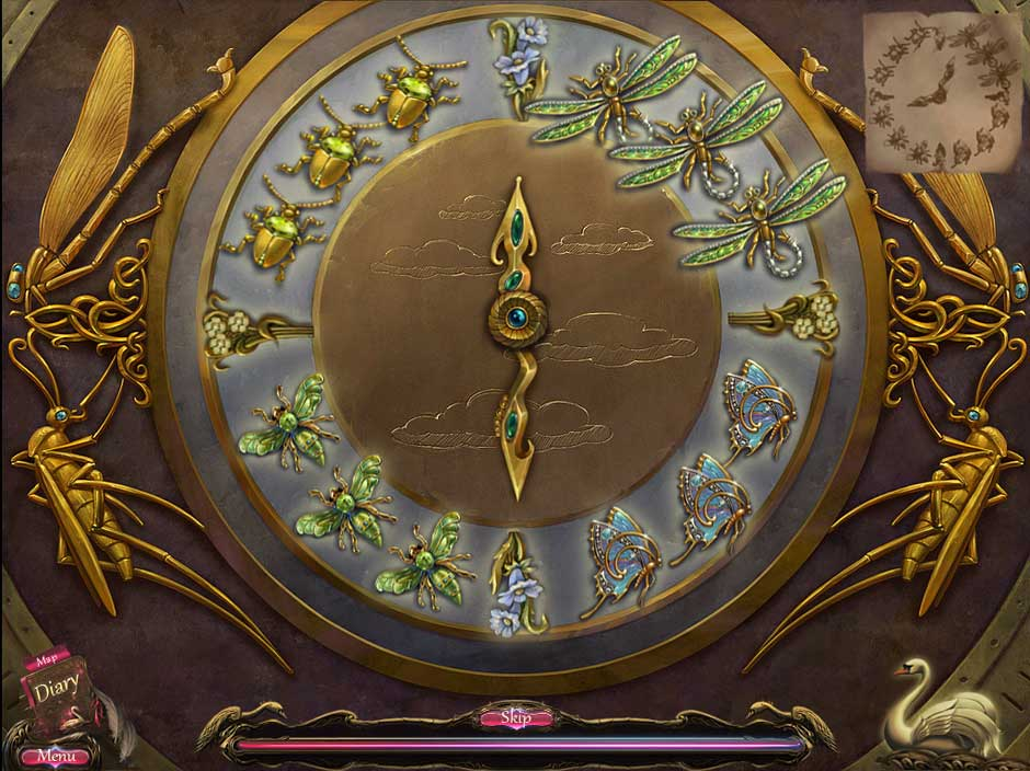 Black Swan Puzzle 02 Insect Clock