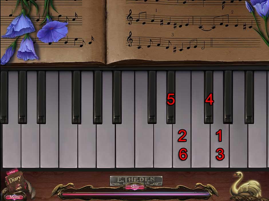 Black Swan Puzzle 04 Piano