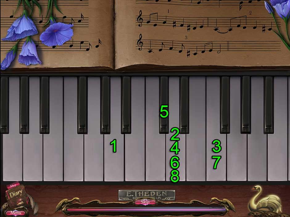 Black Swan Puzzle 05 Piano