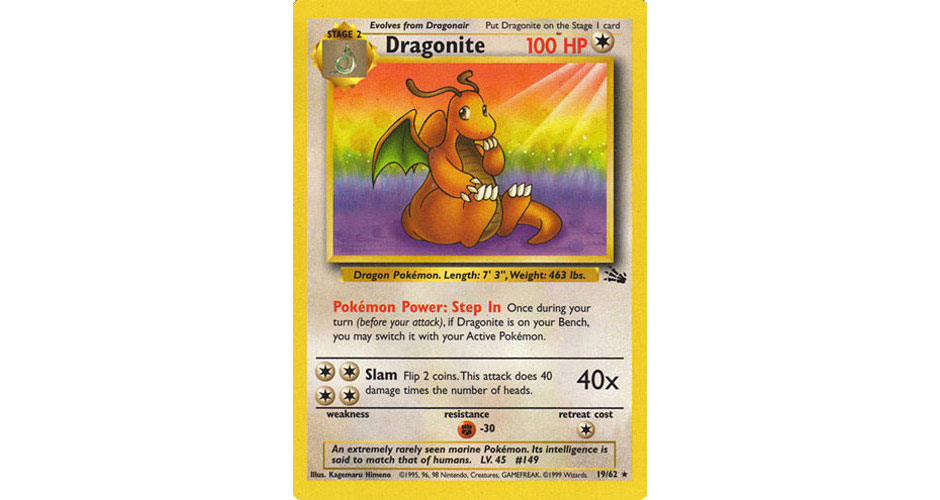 Pokemon TCG Dragonite