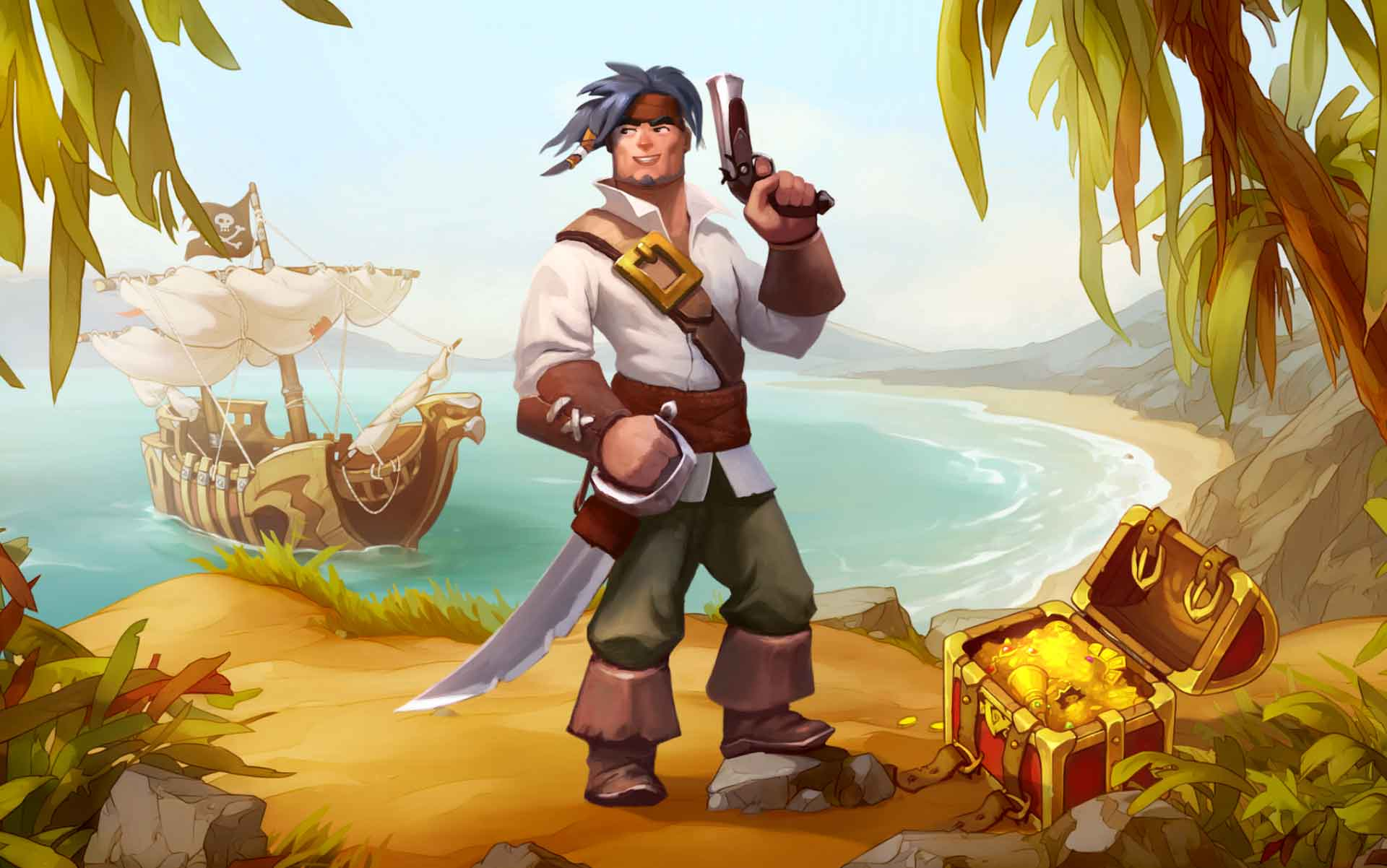 Land ho! Braveland Pirate awaits!