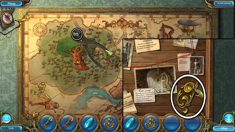 Kingdom of Aurelia - Mystery of the Poisoned Dagger - Chapter 1 - Bedroom Mural
