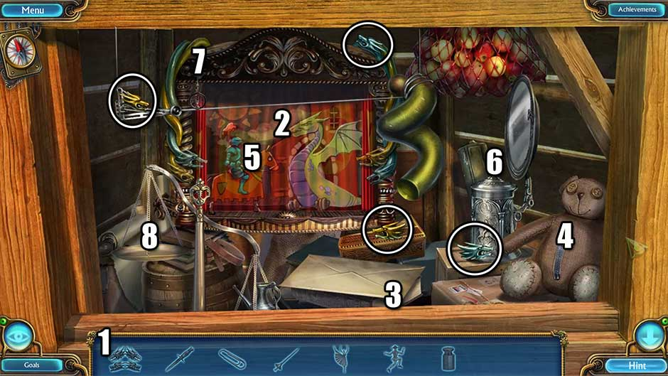 Kingdom of Aurelia - Mystery of the Poisoned Dagger - Chapter 11 - Loading Dock Hidden Object Scene