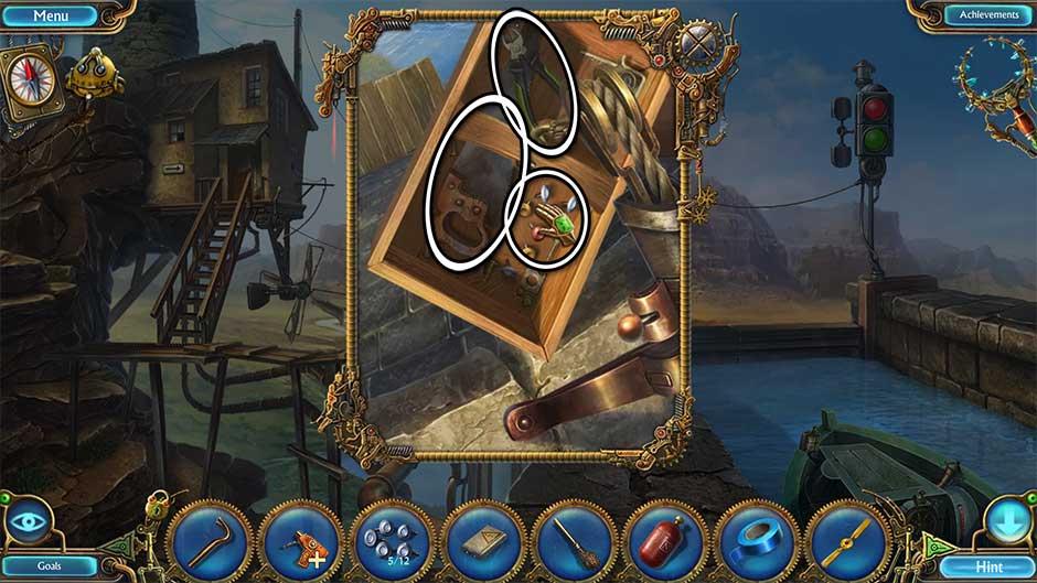 Kingdom of Aurelia - Mystery of the Poisoned Dagger - Chapter 4 - Sluice Crane Items