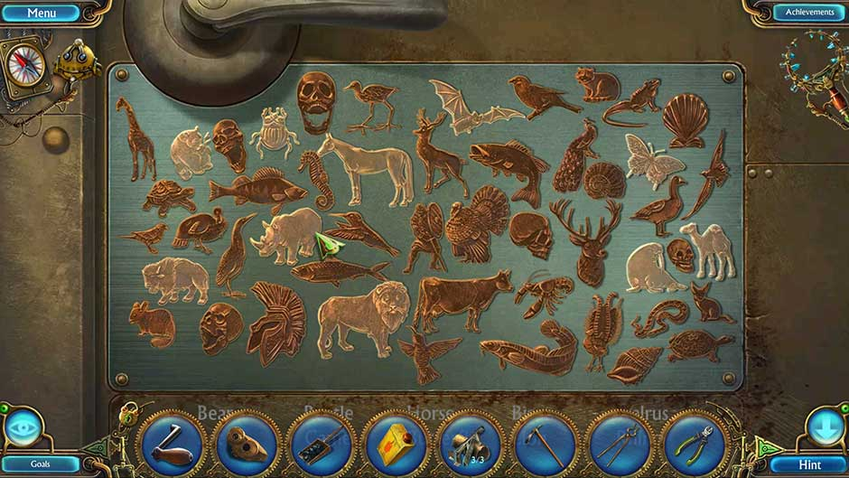 Kingdom of Aurelia - Mystery of the Poisoned Dagger - Chapter 6 - Animal Hidden Object Puzzle