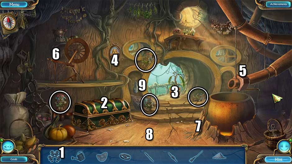 Kingdom of Aurelia - Mystery of the Poisoned Dagger - Chapter 9 - Brewery Hidden Object Scene