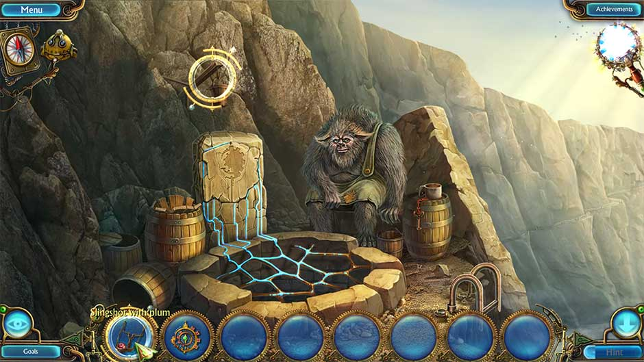 Kingdom of Aurelia - Mystery of the Poisoned Dagger - Chapter 9 - Use Slingshot on Bucket