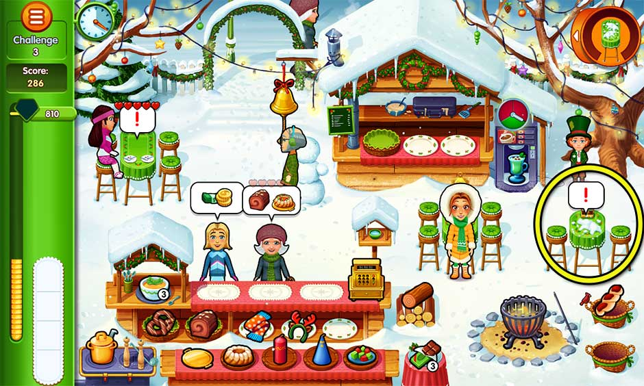 Delicious - Emily's Christmas Carol - Challenge 3